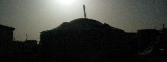 Gobi Ger in the Dark